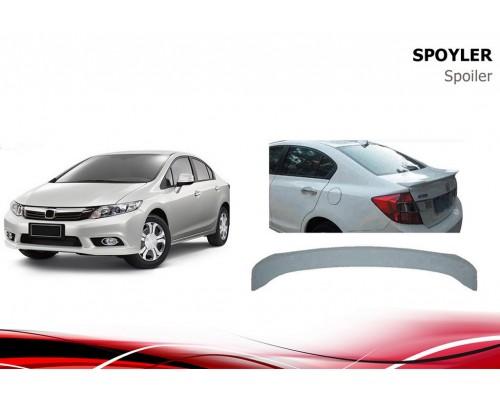 Honda Civic Sedan IX 2012-2016 Спойлер Niken V2 (под покраску)