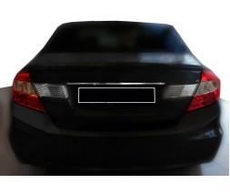 Honda Civic Sedan IX 2012-2016 Накладка над номером (нерж)