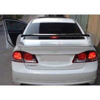 Спойлер RR-Type (под покраску) для Honda Civic Sedan VIII 2006-2011