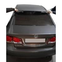 Спойлер на стекло (черный, ABS) для Honda Civic Sedan VIII 2006-2011