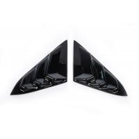 Накладки на треугольники зеркал (2 шт, ABS) для Honda Civic Sedan X 2016+