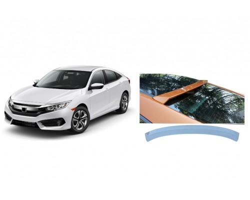 Honda Civic Sedan X (2016↗) Спойлер Заднего стекла Niken V4 (под покраску)