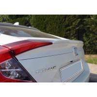 Спойлер Анатомик (под покраску) для Honda Civic Sedan X 2016+