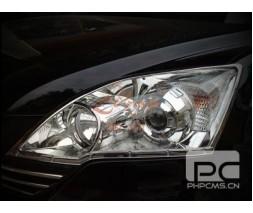 Honda CRV 2007-2011 гг. Накладки на фары (2 шт, пласт)