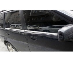 Honda HR-V 1998-2006 гг. Молдинг стекол (нерж)