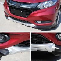 Передняя и задняя накладки (2 шт) для Honda HR-V 2014+