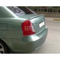 Спойлер Meliset (под покраску) для Hyundai Accent 2006-2010