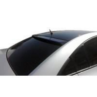 Задний козырек (пластик) Черный глянец для Hyundai Accent Solaris 2011-2017