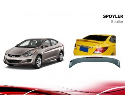 Hyundai Accent Solaris 2011-2017 гг. Спойлер Niken V2 (под покраску)