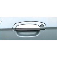 Накладки на ручки (4 шт) Carmos - Турецкая сталь для Hyundai Getz