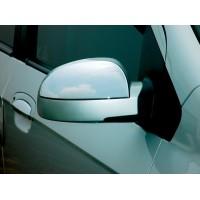 Накладки на верхушку зеркала (2 шт, пласт) для Hyundai Getz