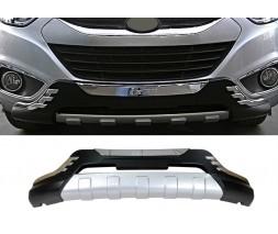 Hyundai IX-35 2010-2015 гг. Передняя пластиковая накладка V2