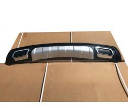 Hyundai IX-35 2010-2015 гг. Задняя пластиковая накладка V3