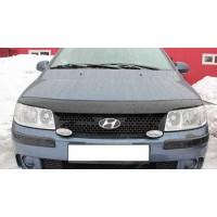 Дефлектор капота (VIP) для Hyundai Matrix