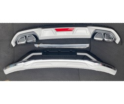 Hyundai Tucson TL 2016↗ гг. Передняя и задняя накладки 2019-2021 (2 шт)