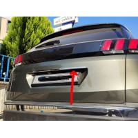 Планка над номером (нижняя, нерж) для Hyundai Tucson TL 2016+