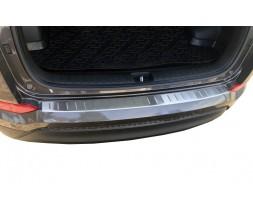 Hyundai Tucson TL 2016+ гг. Накладка на задний бампер 2016-2018 (нерж)