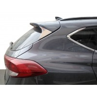 Накладка треугольник на крышку багажника (нерж) для Hyundai Tucson TL 2016+