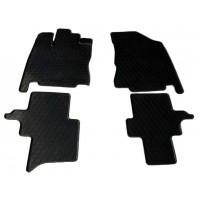 Резиновые коврики (4 шт, Stingray Premium) для Infiniti JX 2012+