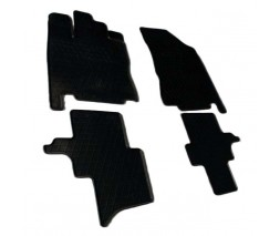 Infiniti QX60 2016↗ гг. Резиновые коврики (4 шт, Stingray Premium)