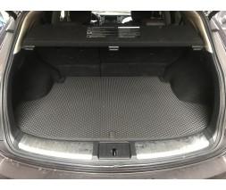 Infiniti QX70 2013+ гг. Коврик багажника (EVA, черный)