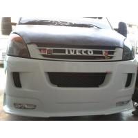 Накладка на передний бампер ERA (под покраску) для Iveco Daily 2006-2014