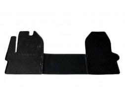 Iveco Daily 2014+ гг. Резиновые коврики (3 шт, Stingray Premium)