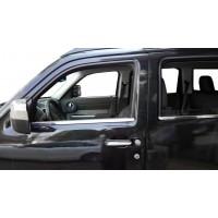 Молдинг стекол (нерж) для Jeep Cherokee/Liberty 2007-2013