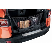 Накладка на задний бампер (нерж) для Jeep Renegade