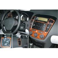 Накладки на панель (Meric) для Kia Ceed 2007-2012