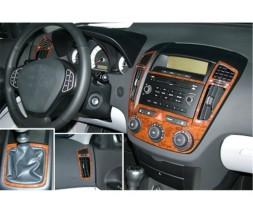Kia Ceed 2007-2012 гг. Накладки на панель (Meric)