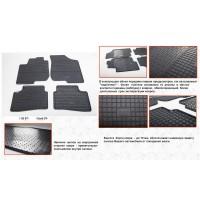 Резиновые коврики (4 шт, Stingray Premium) для Kia Ceed 2007-2012