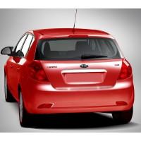 Планка над номером (HB, нерж) для Kia Ceed 2007-2012