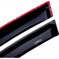 Ветровики SD (4 шт, HIC) для Kia Cerato 2 2010-2013