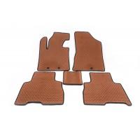 Полиуретановые коврики 2012-2014 (EVA, кирпичные) для Kia Sorento XM 2009-2014 гг.
