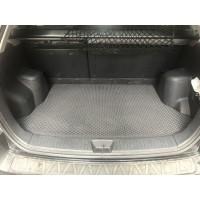 Kia Sportage 2004-2010 гг. Коврик багажника (EVA, полиуретановый, черный)
