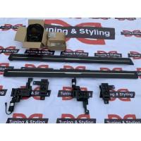 Боковые пороги с выездным механизмом (2 шт., алюминий) для Land Rover Discovery V