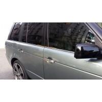 Окантовка стекол (6 шт, нерж) для Range Rover III L322 2002-2012