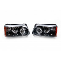 Передняя оптика (2 шт) для Range Rover III L322 2002-2012