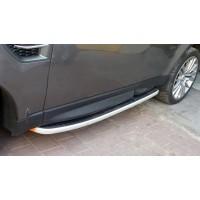 ОРИГИНАЛЬНЫЕ!!! Боковые пороги (2 шт., алюминий) для Range Rover Sport 2005-2013