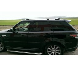 Range Rover Sport 2014+ гг. Рейлинги Skyport (Grey)