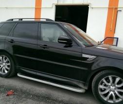 Range Rover Sport 2014+ гг. Рейлинги Skyport (Black)
