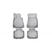 Резиновые коврики в салон (4 шт, Novline) GS250 для Lexus GS 2011-2018