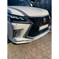 Комплект обвесов 2017+ (TRD 2021+) Черный цвет для Lexus LX570 / 450d