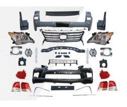 Lexus LX570 / 450d Комплект рестайлинга 2008-2012 на 2012-2016 Standart