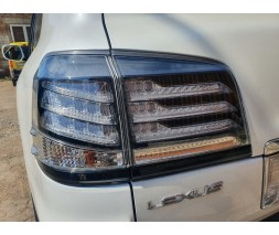 Lexus LX570 / 450d Задняя оптика 2007-2015 (Supercharger, 2 шт)