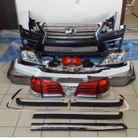 Комплект рестайлинга 2008-2012 на 2012-2016 F-Sport для Lexus LX570  /  450d