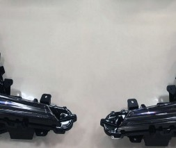 Lexus LX570 / 450d Противотуманки 2016-2021 (Superior Black, 2 шт)