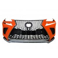 Бампер с решеткой в рестайлинг дизайне для Lexus NX