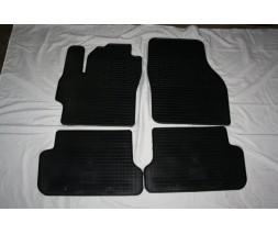 Mazda 3 2003-2009 гг. Резиновые коврики (4 шт, Stingray Premium)